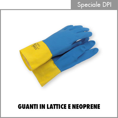 Guanti in lattice e neoprene
