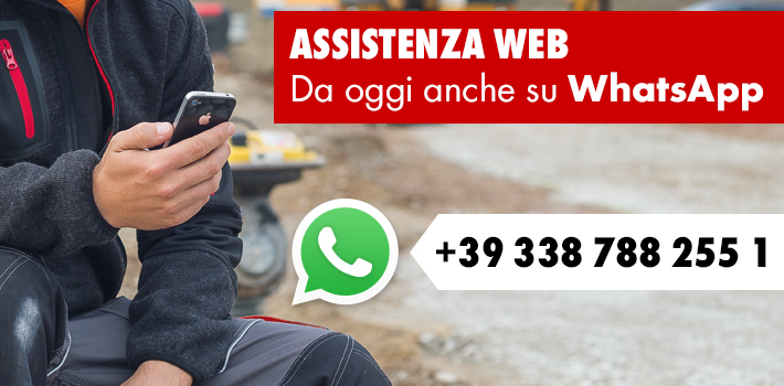 Problemi? Würth ti assiste anche via Whatsapp!