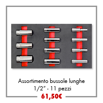 Assortimento bussole lunghe