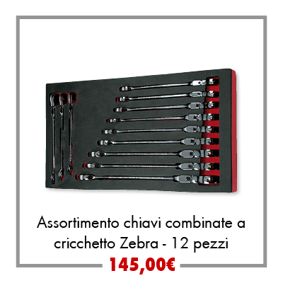 Assortimento chiavi combinate 12pz