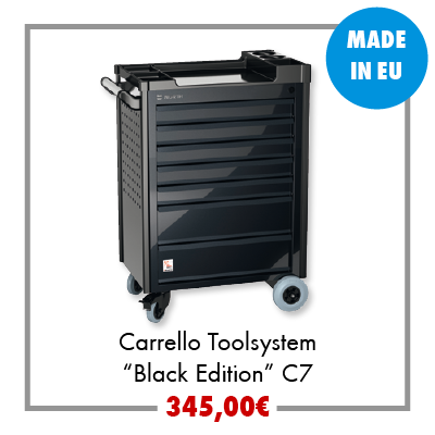 Carrello Toolsystem Black Edition C7