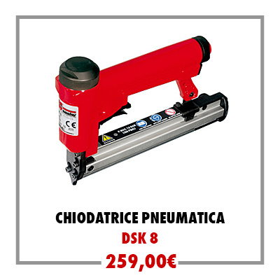 Chiodatrice pneumatica DSK 8
